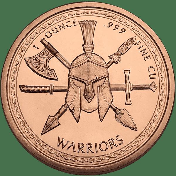 Aztec Warrior Copper Back