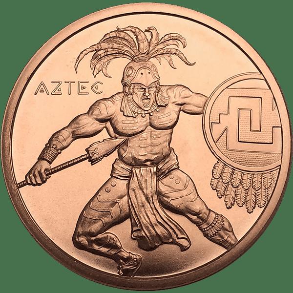 Aztec Warrior Copper Front