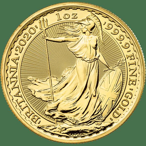Gold Britannia 2020 Front